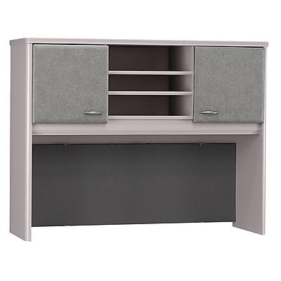 Bush Business Furniture Cubix 48W Hutch, Pewter (WC14549P)