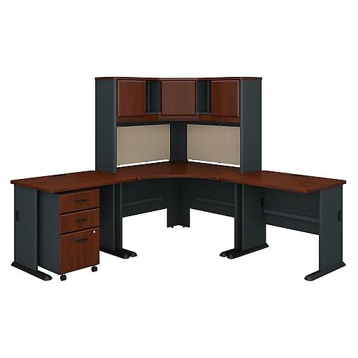 Bush Business Furniture Cubix 84w X 84d Corner Desk With