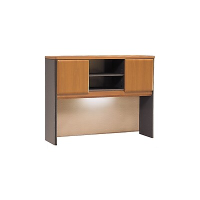 Bush Business Furniture Cubix 48W Hutch, Natural Cherry, Installed (WC57449PFA)
