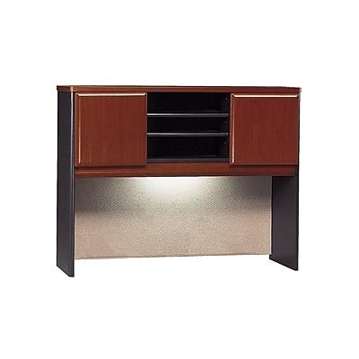 Bush Business Furniture Cubix 48W Hutch, Hansen Cherry (WC94449P)