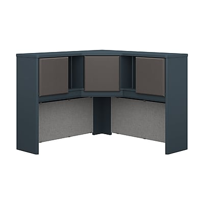 Bush Business Furniture Cubix 48W Corner Hutch, Slate (WC84867PK)