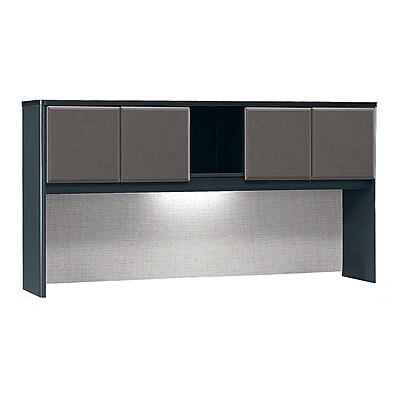 Bush Business Furniture Cubix 72W Hutch, Slate (WC84873P)