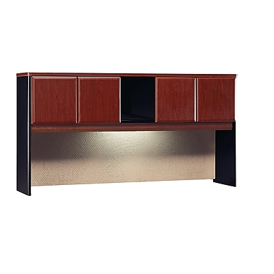 Bush Business Furniture Cubix 72W Hutch, Hansen Cherry (WC94473P)