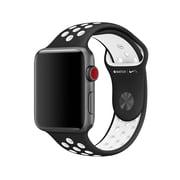 Apple – Bracelet sport Nike 42 mm, P/M et M/G, noir/blanc (MRHM2AM/A)