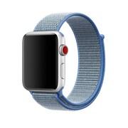 Apple – Bracelet sport à rabat 42 mm, bleu Tahoe (MRJ12AM/A)