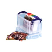Really Useful Boxes 2.1L Storage Box, Clear