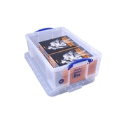 Really Useful Boxes 50L Storage Box, Clear