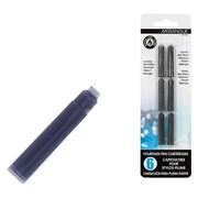 Merangue Fountain Pen Refills, Black, 6/Pack