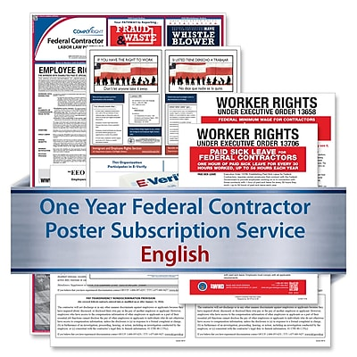 ComplyRight Federal Contractor (English) - Subscription Service (U1200CFC)