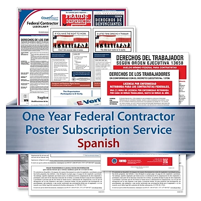 ComplyRight Federal Contractor (Spanish) Subscription Service (U1200CFCS)
