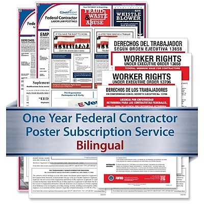 ComplyRight Federal Contractor (Bilingual) - Subscription Service