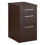 Bush Business Furniture Emerge 3 Drawer File Cabinet, Mocha Cherry (300S104MR)