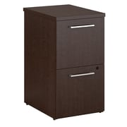 Bush Business Furniture Emerge 2 Drawer File Cabinet, Mocha Cherry (300S105MR)