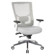 Office Star Pro-Line II™ White Mesh High Back Manager's Chair and Padded Seat (95672-5882)