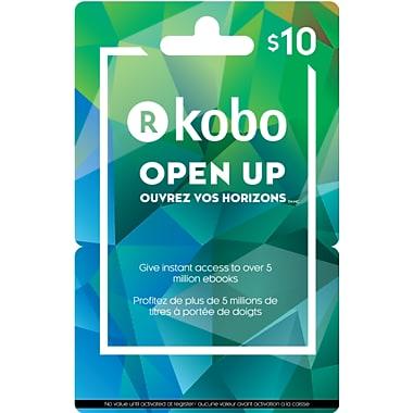 Kobo – Carte-cadeau de 10 $