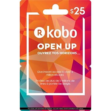 Kobo – Carte-cadeau de 25 $