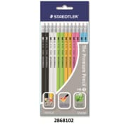 Staedtler 12 Norica Pastel Barrel Black-Lead Pencils, 12/Pack