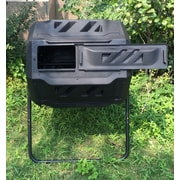 KoolScapes 42-Gallon 2 Chamber Rotary Tumbler Composter (TCB-42)