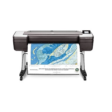 HP DesignJet T1700dr 44-in PostScript Printer (1VD88A)