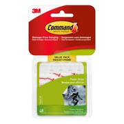 Command Small Poster Strips Value Pack 17024C-VP