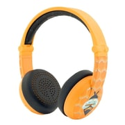 ONANOFF BuddyPhones Wave Wireless Headphones with Hardcase, Bee Yellow