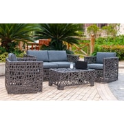 Henryka 4-Piece Patio Conversation Set (EG201602S)