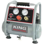 King Industrial Ultra-Quiet Oil-Free Air Compressor, 1-Gallon (KC-1410A)