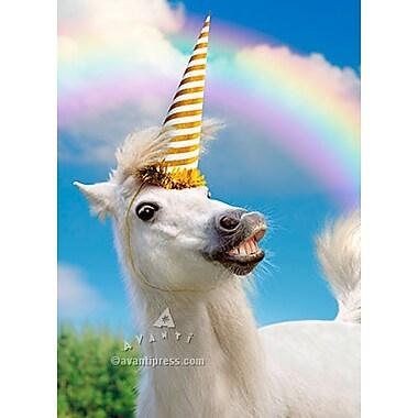 Avanti Birthday Card Uni Horse