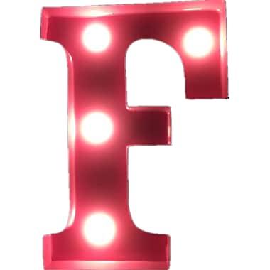 Idec Sense Decoration Gift LED Light Letter F 2d7a65884e2b