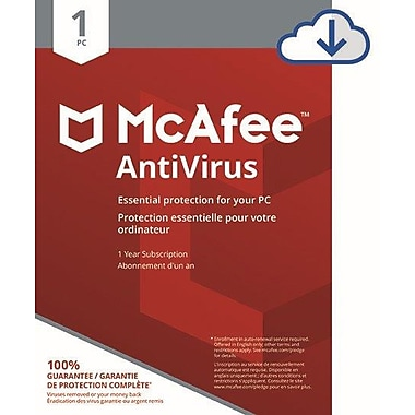 McAfee AntiVirus 1 PC [Download]