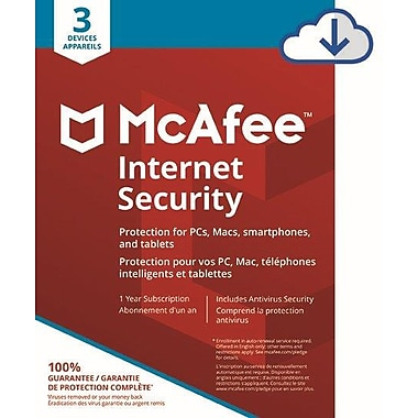 McAfee Internet Security 3 Device [Download]