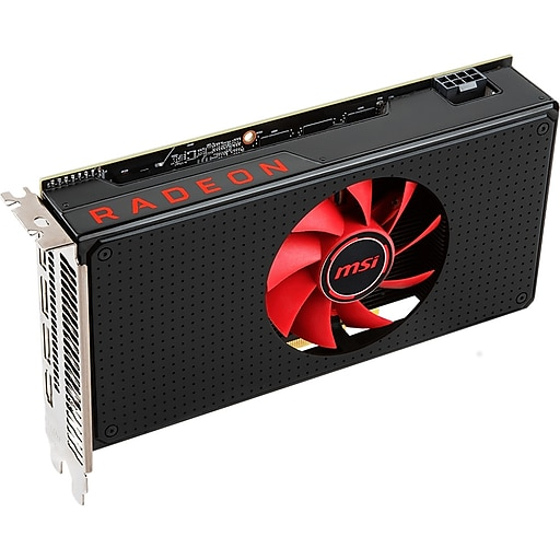 MSI RX 580 8G V1 Radeon RX 580 Graphic Card, 1 34 GHz Boost Clock, 8 GB  GDDR5