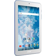 "Acer Iconia One 7 B1-7A0-K78B Tablet, 7"", 1 GB DDR3L SDRAM, MediaTek Cortex A35 MT8167B Quad-core (4 Core) 1.30 GHz, 16 GB"