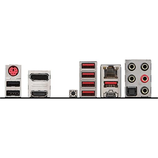 MSI X470 GAMING PRO CARBON Desktop Motherboard, AMD Chipset, Socket AM4