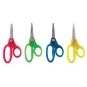 """Westcott 5"""" Pointed Translucent Scissors With Glitter, 4 Assorted, Colours"""