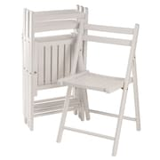 Winsome Wood Robin 4-Piece Folding Chair Set