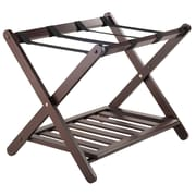 Winsome Wood Remy Luggage Rack with Shelf, Cappuccino (40436)
