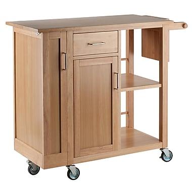 sc 1 st  Staples & Winsome Wood Douglas Kitchen Cart (89443) | Staples