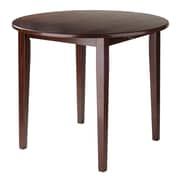 "Winsome Wood Clayton 36"" Round Drop Leaf Table (94436)"