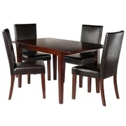 Winsome Wood Anna 5-Piece Dining Table Set with Chairs (94573)