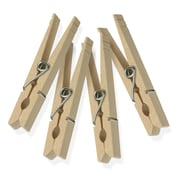 Honey Can Do Wood Clothespins with Spring, 200/Pack