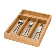 Honey Can Do Bamboo 4 Compartment Cutlery Tray