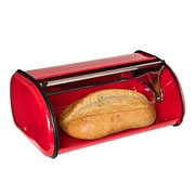 Honey Can Do Retro Bread Box, Red
