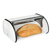 Honey Can Do Retro Bread Box, White