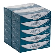 Angel Soft Ultra Professional Series® 2-Ply Facial Tissue by GP PRO, Flat Box, 125 Sheets/Box, 10 Boxes/Carton (4836014)