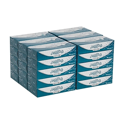 Angel Soft Ultra Professional Series® 2-Ply Facial Tissue by GP PRO, Flat Box, 125 Sheets/Box, 30 Boxes/Carton (48560)