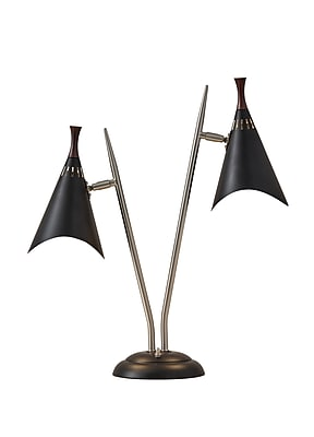 Adesso Draper Desk Lamp, Black (3235-01)
