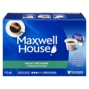 Maxwell House Decaf Single Serve Coffee, 117g, 12/Pack