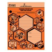 Louis Garneau – Cahiers d'écriture avec interlignes pointillées, 9 1/4 po x 7 1/4 po, 32 pages, orange (LG10OR)