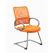 Boss Mesh Back with Pewter Finish Guest Chair (B6419-OR)